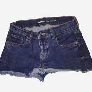 Old Navy Distressed Jean Shorts Size 2/26
